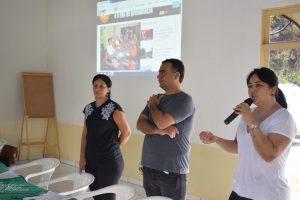 Secretária de Comunicação, Lilian Teles, apresenta inovações na comunicação sindical