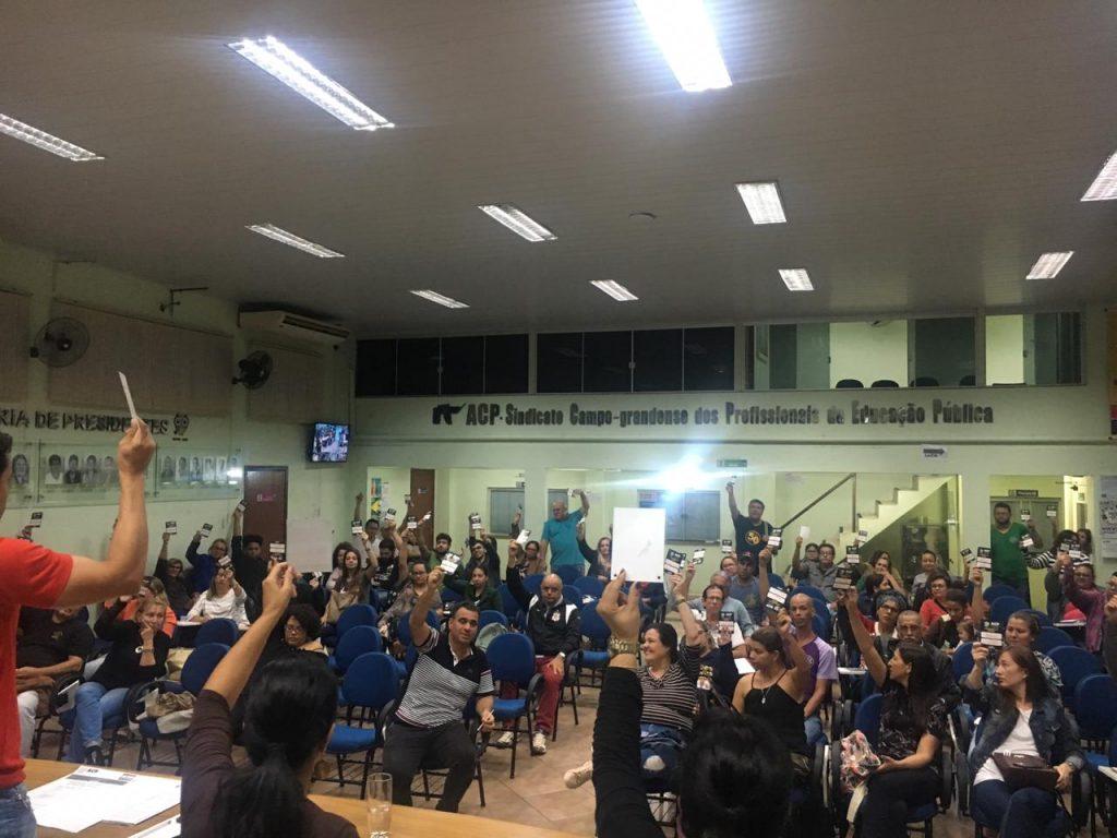 Piso 20h: professores da REME aprovam proposta de correção salarial 2019