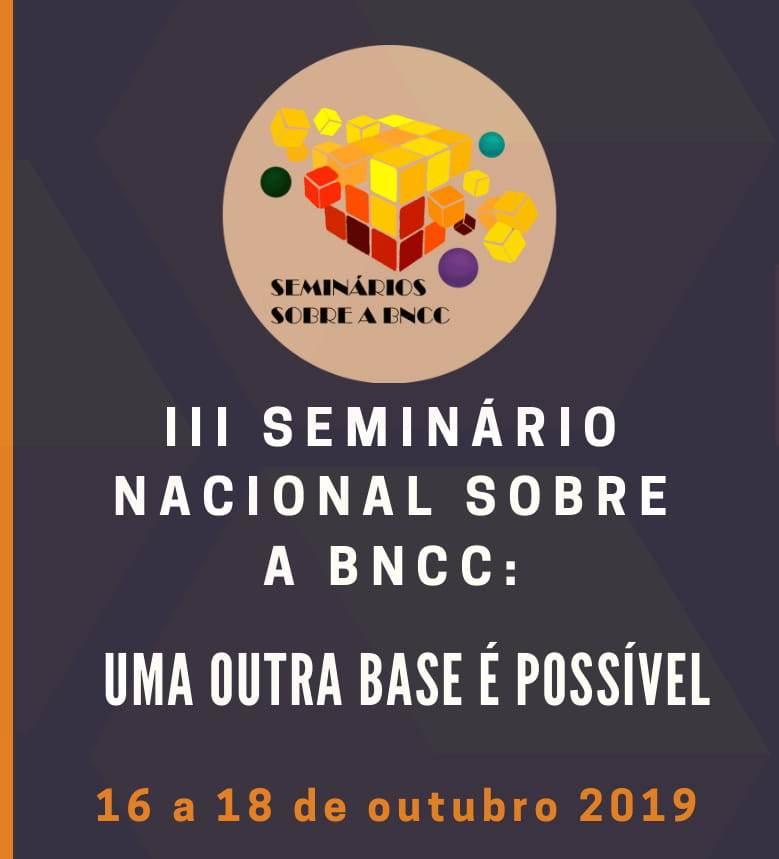 III Seminário Nacional da BNCC acontece em outubro na UFMS