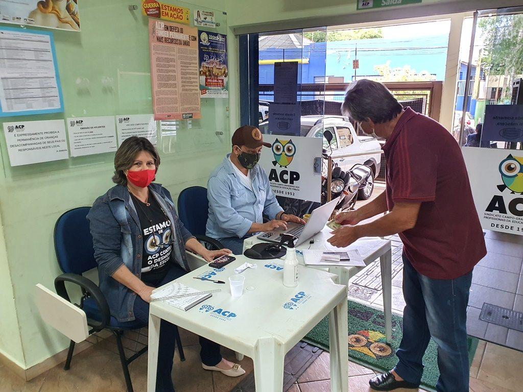 Em meio à pandemia, ACP promove isolamento social e segue trabalhando em defesa dos profissionais da Educação