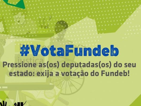 Campanha pelo novo Fundeb bomba nas redes e Maia promete votar PEC semana que vem