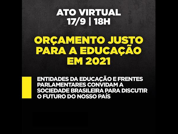 Semana Freireana: CNTE assina manifesto em defesa da educação como direito público e realiza ato virtual nesta quinta-feira