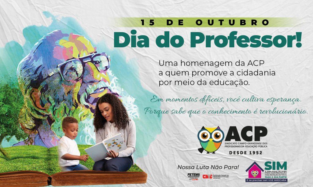 Dia do Professor 2020 – ACP inova em comemorações e tradicional festa será virtual