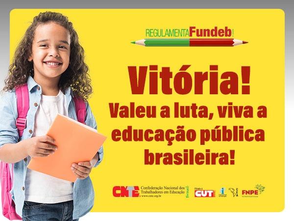 Nota Pública: FUNDEB para a escola pública!
