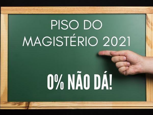 Piso do Magistério 2021   A cada dia fica mais evidente o calote do governo federal