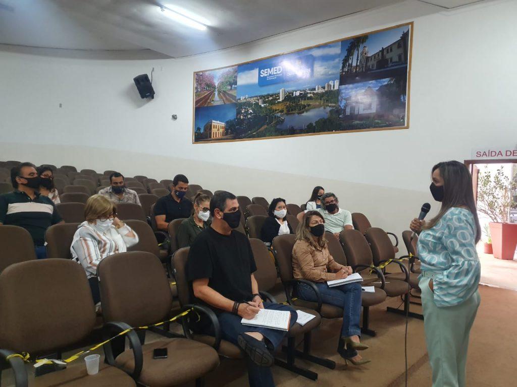 ACP tem reunião com a Semed e cobra assuntos de interesse da Educação