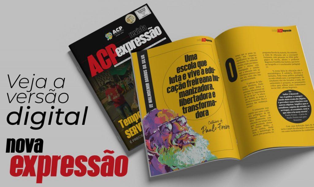 Revista ACP Expressão 2021 tem novo projeto gráfico e versão digital lançada