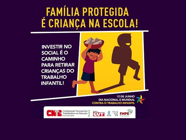 Família protegida é criança na escola