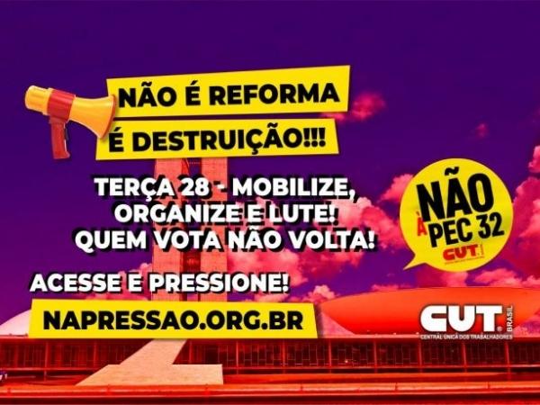 PEC 32 Reforma Administrativa de Bolsonaro é um monstro que precisa ser aniquilado