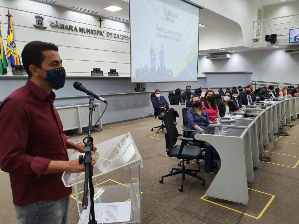 ACP participa de audiência pública sobre violência contra crianças e adolescentes