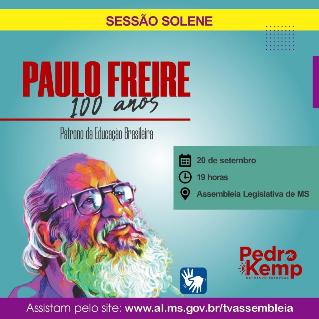"""ACP recebe diploma """"Centenário de Paulo Freire"""", em homenagem proposta pelo Deputado Pedro Kemp"""