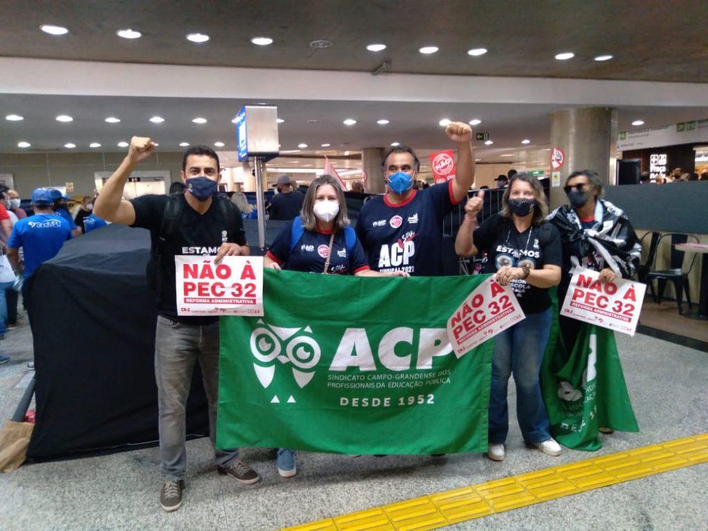 """ACP contra PEC 32 – Profissionais da educação mantêm pressão e avisam: """"quem votar, não volta!"""""""